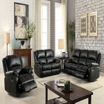 52285 BLACK MOTION SOFA