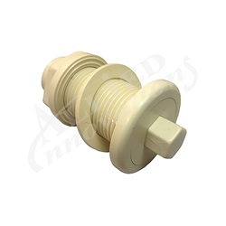 AIR BUTTON: #4 LITE TOUCH, BONE BEIGE