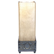"12.9""H Studio Art Glass Square Uplight"