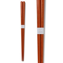 Chopsticks Wood Orange 2