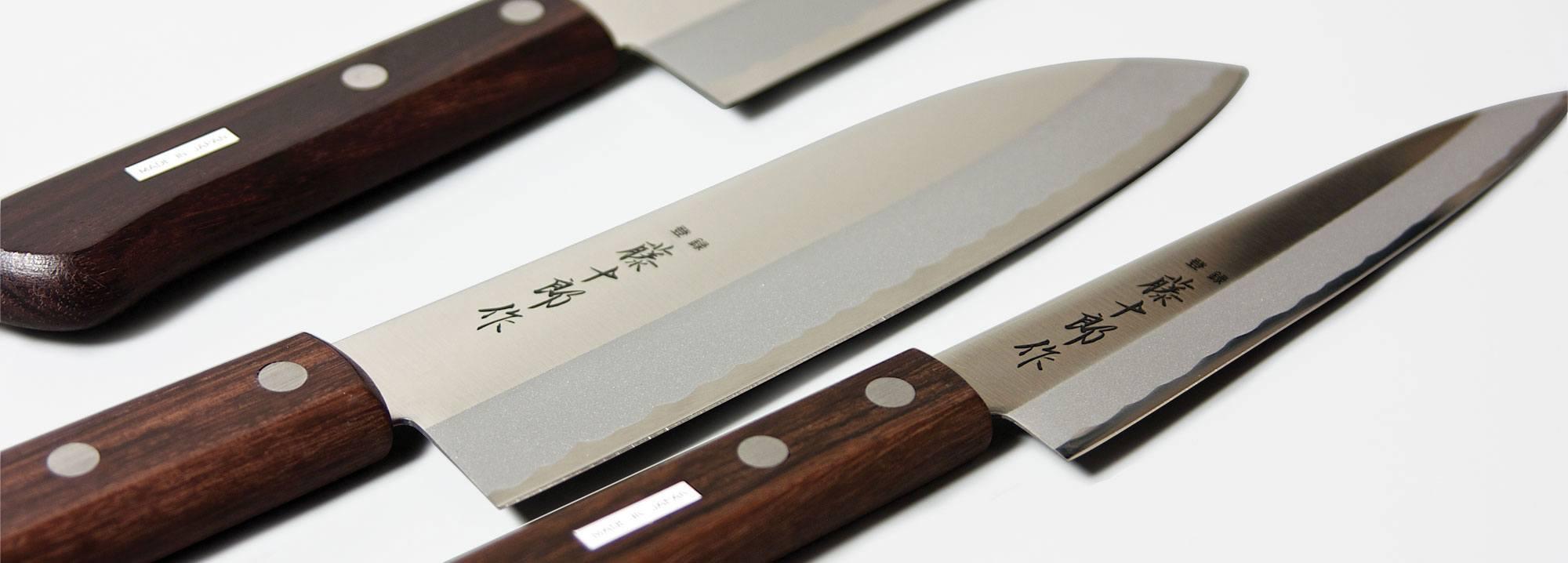 Japanese Knives   Yanagi - Deba - Usuba   Imported from Japan by Miya