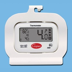 Digital Refrigerator – Freezer Thermometer  (Cooper-Atkins)