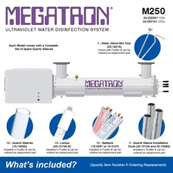 Megatron Manual M250 - Included Accessories