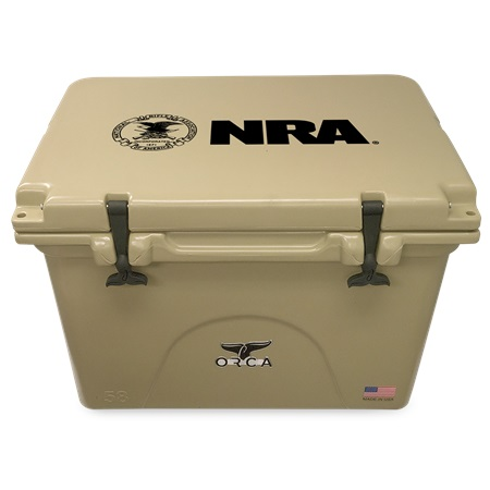 NRA Tan 58qt ORCA Cooler