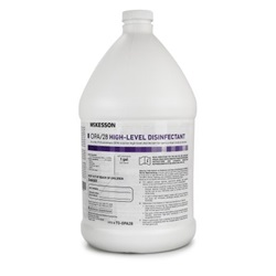 High Level Disinfectant - McKesson, 1 Gallon Jug
