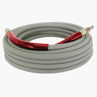 "100ft 6000 PSI 3/8"" Non Marking Rubber Hose"
