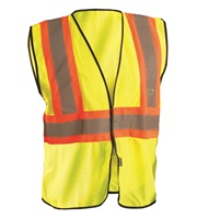 High Visibility Value Mesh Two-Tone Safety Vest