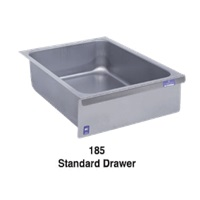 Duke Manufacturing 185LK Standard Drawer Stainless Steel