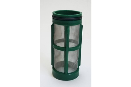 "2 1/2"" 100 Mesh Screen Strainer Basket - Green"