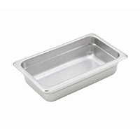 "Economy Anti-Jam 1/4 Size, 2-1/2"" D Steam Table Pan"