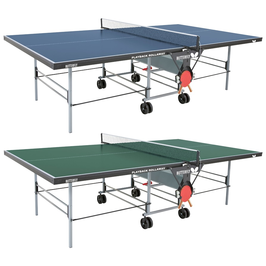 Butterfly Table Tennis - Playback Rollaway Table: Durable