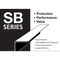 "2 X 2 X 42"" .120 STRONG BOARD EDGE PROTECTOR,"