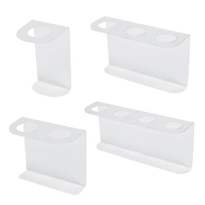 16oz Natural Boston Rd Dispenser Brackets, Frosted