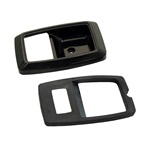 79-93 Door Bezels (Black)