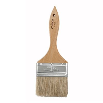 Winco WBR-30 Wood Handled Pastry Brush