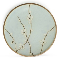 "Spring Blossoms 7.75"" Round Plate"