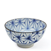 "Monyou 4.25"" Asanoha Rice Bowl"