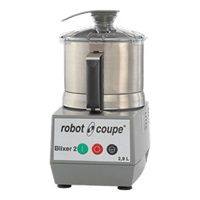 ROBOT COUPE BLIXER 2 FOOD PROCESSOR, 2.5 QT. BRUSHED STAINLESS STEEL