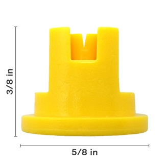 Polyacetal Yellow 80° Nozzle Spacing