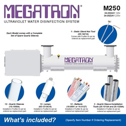 Megatron Automatic M250 - Included Accessories