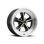 17 x 7 Legendary GT9 Alloy Wheel, 5 on 4.5 BP, 4.25 BS,Charcoal / Machined