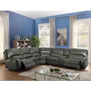 53745 SAUL POWER SECTIONA SOFA