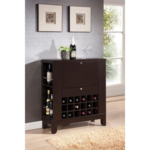 97010 WENGE FINISH WINE BAR