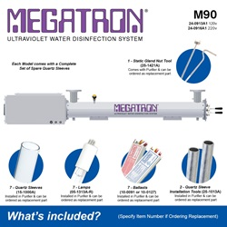 Megatron Manual M90 - Included Accessories