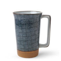 Blue Basket Weave 12 oz. Tall Mug