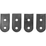 Trunk lid clamp mounting pad