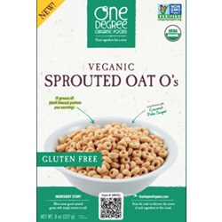 Sprouted Oat O's, OG - 8oz