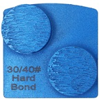 Double Dot Hard Bond 30/40 Grinder Tooling Compatible with: Husqvarna® Redi Lock®