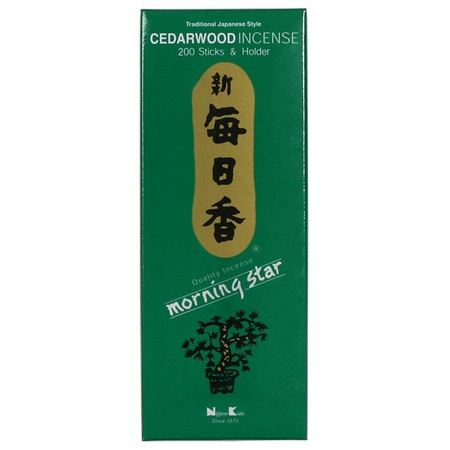 Morning Star Incense - Cedar