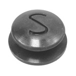Horn button contact cushion