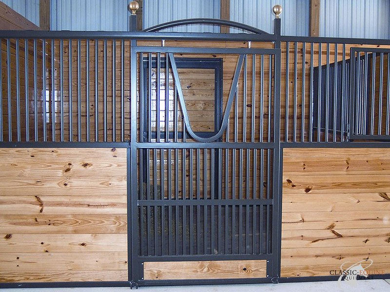 Sliding Horse Stall #17 & Sliding Horse stall doors | Best Quality Horse Stalls made in the USA