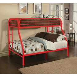 02053RD TRITAN RED T/F BUNK BED