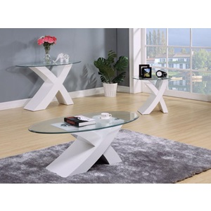 80860_KIT PERVIS WHITE COFFEE TABLE