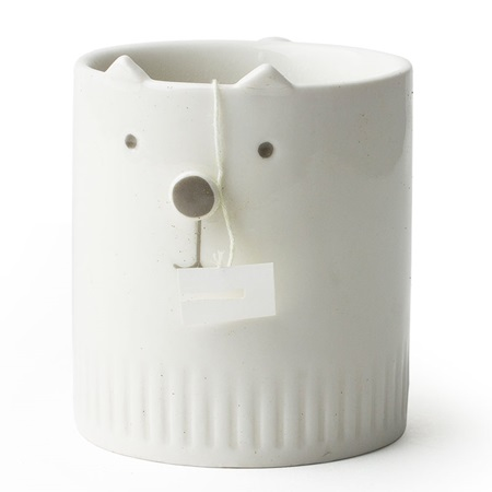 NEKO NO HANA WHITE CAT MUG