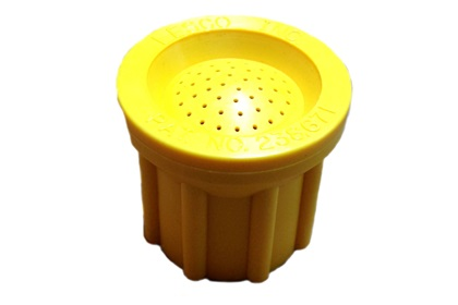 Lesco Spray Gun Tip - Yellow