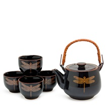 DRAGONFLY BLACK TEA SET