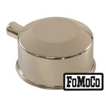 65-66 Oil Cap with Tube (FoMoCo logo, Chrome)