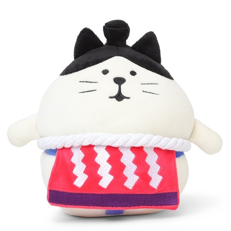 Plush Cat Sumo Large