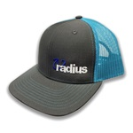 Radius Hat Teal/Charcoal
