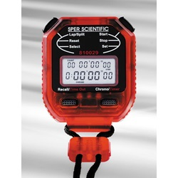 8 Memory Stopwatch (Sper Scientific 810029R)