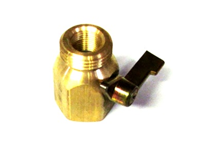 Rears Brass Hand Gun Hook Up Valve