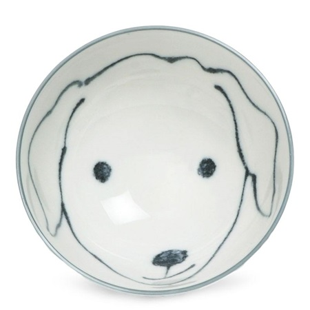 "Dog Days 4.5"" Rice Bowl - Labrador"