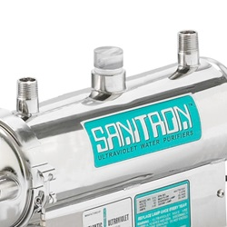 Sanitron UV Water Purifier Model 17A Closeup