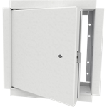 Insulated Fire-Rated Access Door with Drywall Bead Flange