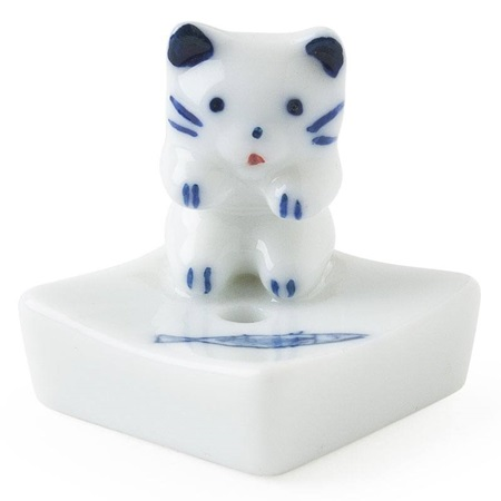 Cat & Fish Incense Holder