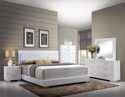 22640Q LORIMAR QUEEN BED